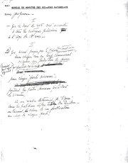 Notes de René Lévesque sur le financement des... (Archives Le Soleil) - image 1.1