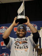 Pablo Sandoval a été élu le joueur par... (Photo: AP) - image 2.0