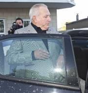 Bernard Trépanier lors de son arrestation en mai... (Photo: Patrick Sanfaçon, La Presse) - image 2.0
