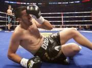 Cesar Chavez au tapis... (PHOTO DAVID BOILY, LA PRESSE) - image 3.0