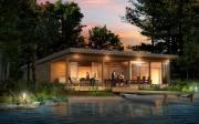 La maison Natur-O de Bonneville compte une terrasse... (Photo fournie par le Salon chalets et maisons de campagne) - image 1.0