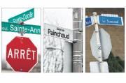 Exemples de typographie à Beauport, l'ancienne ville-centre de... (Le Soleil, Erick Labbé et Yan Doublet) - image 1.0