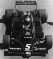 La Lotus de Mario Andretti.