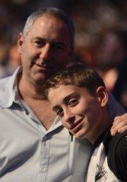 Le Torontois David Wolfe a assisté au gala... (Photo: Bernard Brault, La Presse) - image 2.0