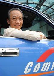 Sia Ka Tian, chauffeur de taxi à Singapour.... (Photo: AFP) - image 2.0