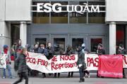 Des petits groupes de 10 à 15 personnes... (Photo Patrick Sanfaçon, La Presse) - image 2.0