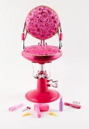 Chaise de coiffeur par Battat. 49,99$.... - image 1.0