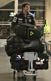 Alex Harvey est arrivé à  l'aéroport Jean-Lesage,... (Le Soleil, Pascal Ratthé) - image 1.0