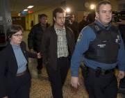 Patrick Désautels, à son arrivée au palais de... (La Presse Canadienne) - image 1.0