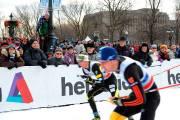 Les athlètes ont eu droit aux encouragements bruyants... (Photo Le Soleil, Erick Labbé) - image 1.0