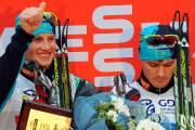 Denis Volotka et Nikolay Chebotko ont assuré un... (Photo Le Soleil, Erick Labbé) - image 1.0