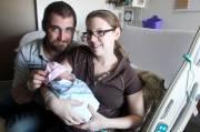 La petite Madison est née deux secondes après... (Patrick Woodbury, LeDroit) - image 1.0