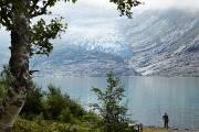 Le glacier Svartisen, situé dans les Alpes scandinaves,... (Louise Bilodeau, collaboration spéciale) - image 4.0