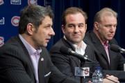 Marc Bergevin, Geoff Molson et Michel Therrien.... (Photo archives La Presse Canadienne) - image 1.0
