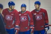 Max Pacioretty, Yannick Weber et Colby Armstrong.... (Photo: André Pichette, La Presse) - image 2.0