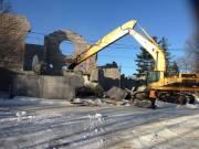 Les travaux de démolitions se poursuivent ce matin.... (Patrick Woodbury, LeDroit) - image 1.0
