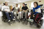 Prise à l'Institut de réadaptation Gingras-Lindsay de Montréal... (Photo: Robert Skinner, La Presse) - image 2.0