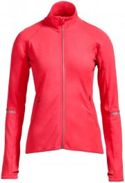 Veste zippée fonctionnelle avec passe-pouce, couleur corail fluo,... - image 1.1
