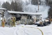 Une maison du secteur Deauville à Sherbrooke a été la... (Imacom, Maxime Picard) - image 2.0