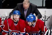 Alex Galchenyuk, Michel Terrien et Brendan Gallagher... (La Presse Canadienne) - image 1.0