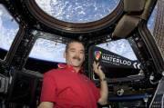 À 370 kilomètres au-dessus de la Terre,... (Photo : CNW, Université de Waterloo) - image 2.0