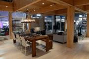 Le bois et la généreuse fenestration donnent du... (Le Soleil, Patrice Laroche) - image 2.0