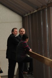Yves Gosselin, Michel Lagrandeur et Linda Proulx.... - image 1.0