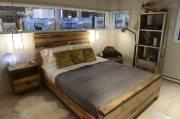 Maison Natur-T: la chambre secondaire est dotée de... (Le Soleil, Patrice Laroche) - image 2.1