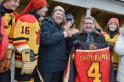 La visite du maire de Québec Régis Labeaume... (Photo Le Soleil, Patrice Laroche) - image 2.0
