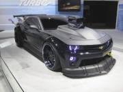 Cette Camaro devrait aider un... escargot (!) à connaître les griseries de la vitesse dans le film d'animation Turbo.
