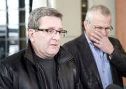 Le maire de Québec, Régis Labeaume, et l'actuel... (Le Soleil, Steve Deschênes) - image 1.0