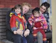 Sébastien Rivard, Guylaine Corriveau et leurs enfants Éli... (Collaboration spéciale Brigitte Lavoie) - image 2.0