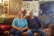Jean et Floyd Burns habitent Hinkley depuis 46... (Photo : Nicolas Bérubé, La Presse) - image 1.1