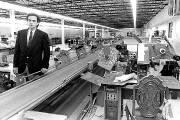 L'usine de fabrication de vêtements de Louis Garneau... (Archives Le Soleil) - image 1.1