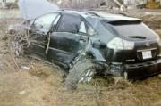 La voiture d'Adèle Sorella après une collision avec... (Photo fournie par la Cour) - image 2.0