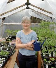 Lili Michaud incite les gens à pratiquer l'agronomie... (Photo Jean-Marie Villeneuve, Le Soleil) - image 2.0