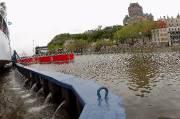 Le fleuve Saint-Laurent est sorti de son lit... (Le Soleil, Jean-Marie Villeneuve) - image 1.1