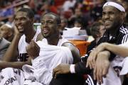Chris Bosh, Dwyane Wade et LeBron James.... (Photo Hans Deryk, Reuters) - image 2.0