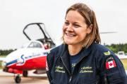 La Trifluvienne Annie Bourassa est technicienne en aéronautique... (Photo: Olivier Croteau) - image 1.0