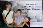 Joëlle, 12 ans, Marc-Ange, 7 ans, et Louis-Philippe,... (Photo: François Roy, La Presse) - image 1.0