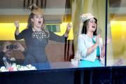 Derrière leur grand-mère, les princesses Béatrice (à gauche)... (PHOTO TIM IRELAND, AP) - image 2.0