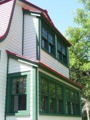 Les fenêtres de la maison Gomer ont été... (Alexandra Perron, collaboration spéciale) - image 2.0