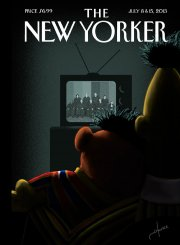 Bart et Ernest, personnages de... (ILLUSTRATION: JACK HUNTER THE NEW YORKER) - image 2.0