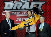 Le défenseur Seth Jones a causé une certaine... (Associated Press) - image 2.0