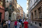 Une importante rue piétonne du centre-ville où il... (Pierre-Olivier Fortin, collaboration spéciale) - image 3.0