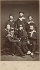 Portrait collectif des membres de l'équipage du Louis... (Photo Sébastien Dondain, fournie par leMusée national de la Marine) - image 2.1