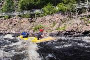 Grâce au kayak tandem, Anthony Kelso peut se... (Photo collaboration spéciale Simon-Charles Couture-Labelle) - image 1.0