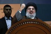 Le chef du Hezbollah libanais, Hassan Nasrallah.... (Photo Hussein Malla, AP) - image 1.0