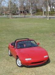 La Mazda Miata.