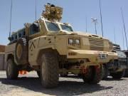 Le véhicule de patrouille blindé RG-31.